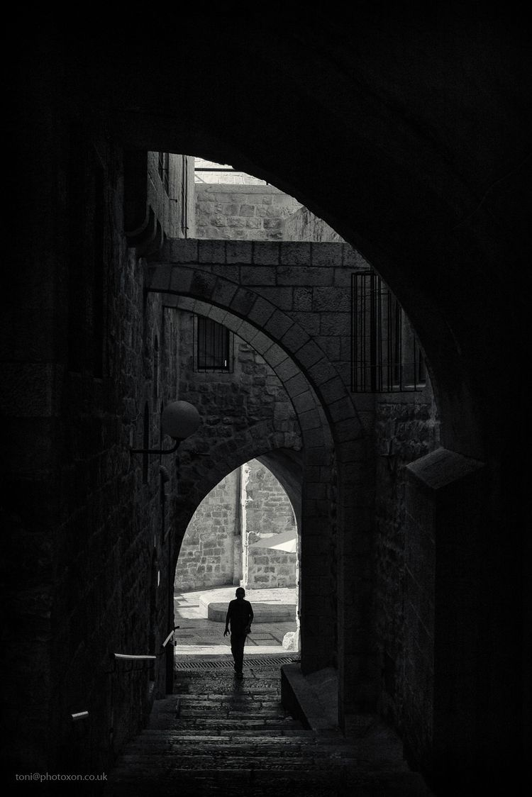 Jerusalem arches. Israel 2017 - toni_ertl   ello