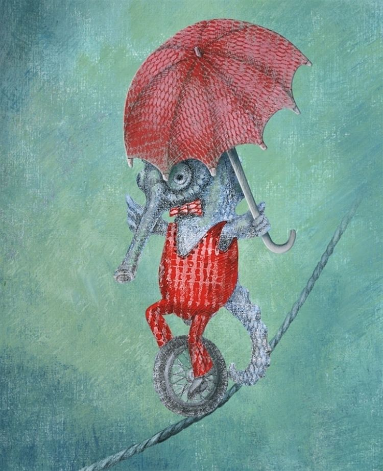 seahorse (illustration Csodacer - aja007 | ello