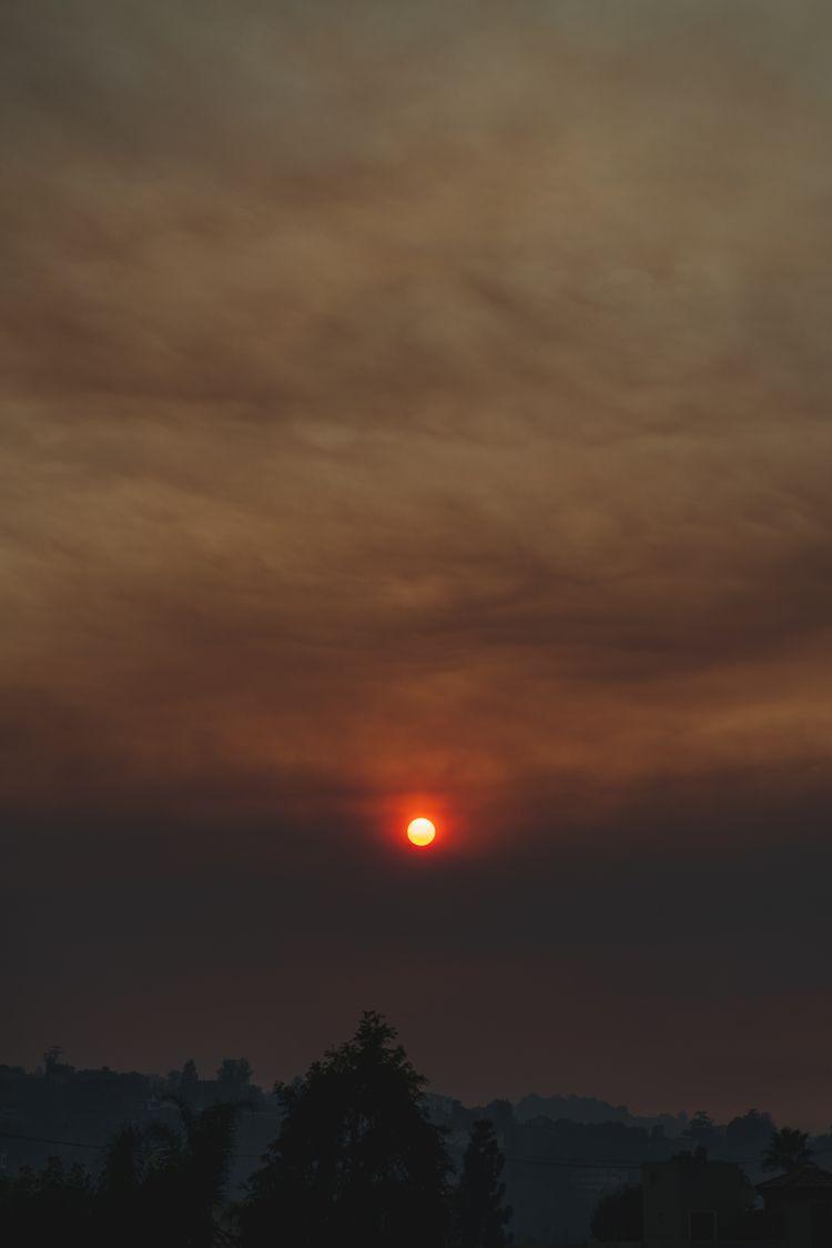 woolseyfire, fire, sunset, studiocity - deresolute | ello