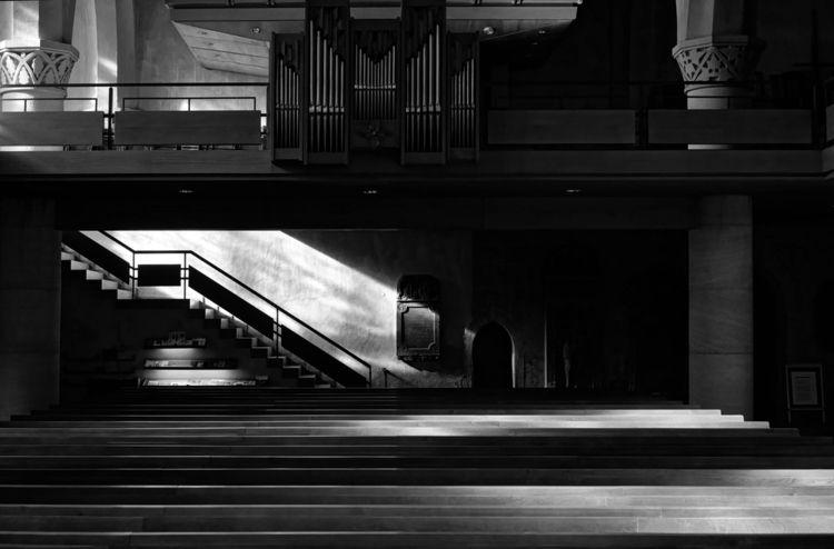 clear - photography, church, emptiness - marcushammerschmitt | ello