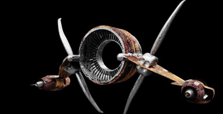 Alein Spaceship teleporter - model - siqho | ello