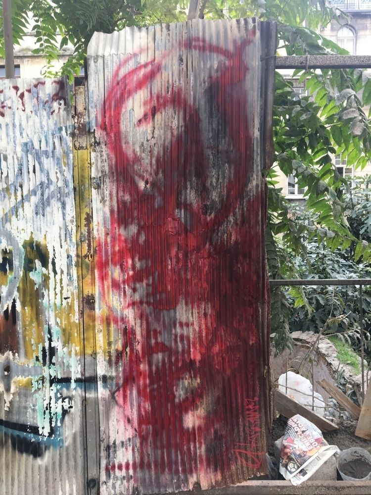 Cruel Heart-Collector graffiti  - oltasisaman | ello