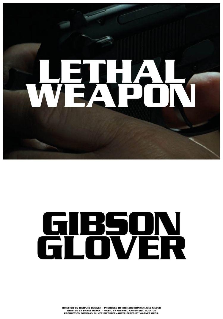 Lethal Weapon, 2016, 70x100cm - film - ludwigmattsson | ello