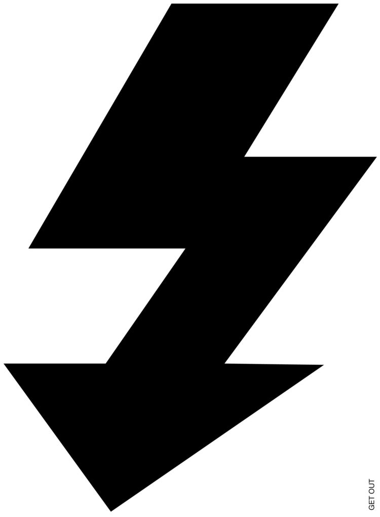 2017, 70x100cm - flash, getout, arrow - ludwigmattsson | ello