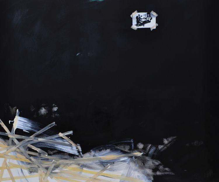 występy John Cage, olej na płót - judytakrawczyk   ello