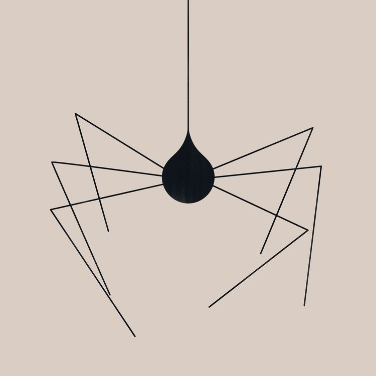 Sad spider - image, illustration - giuliobonasera | ello