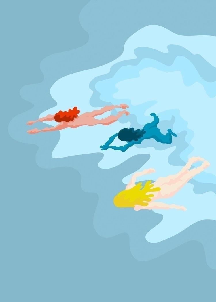 Summer Swim - cooldown, itistoohot - andreaforgacs | ello