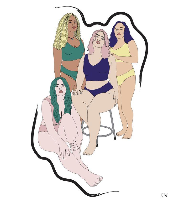 Diversity beautiful  - illustration - kristine_sn | ello