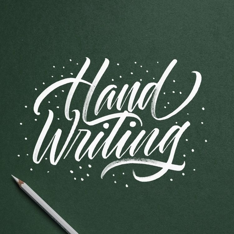 lettering, handlettering, typography - chuckchai | ello