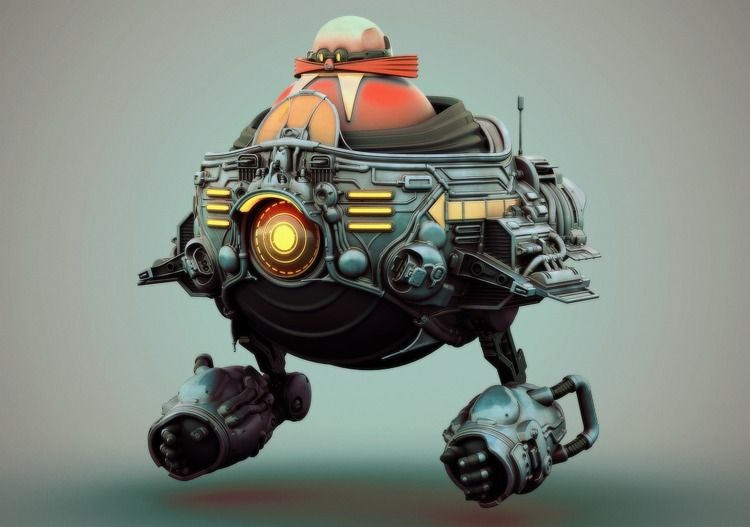 Robotnik ww.jack-rothwell.com - sonic - rothwelljack | ello