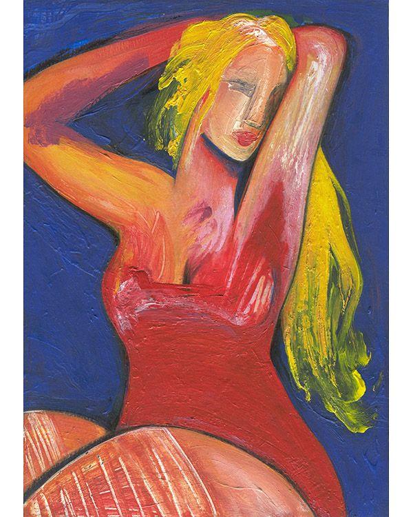 Original acrylic painting paper - kolkalis | ello