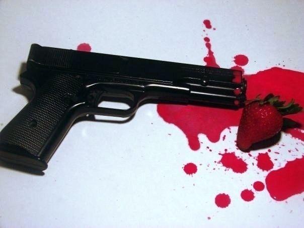 Sweetest Crimes - gun, sweet, fruit - ranjiroo | ello