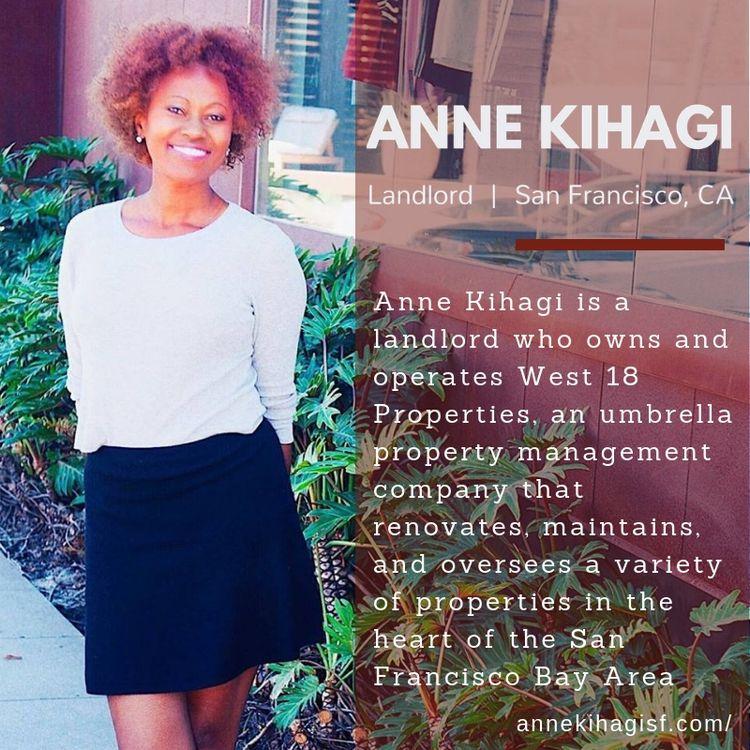 Anne Kihagi landlord owns opera - annekihagi | ello