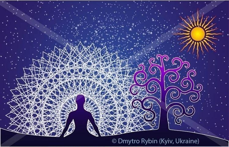 Yogi, tree life mandala - yoga, yogi - dmytroua | ello