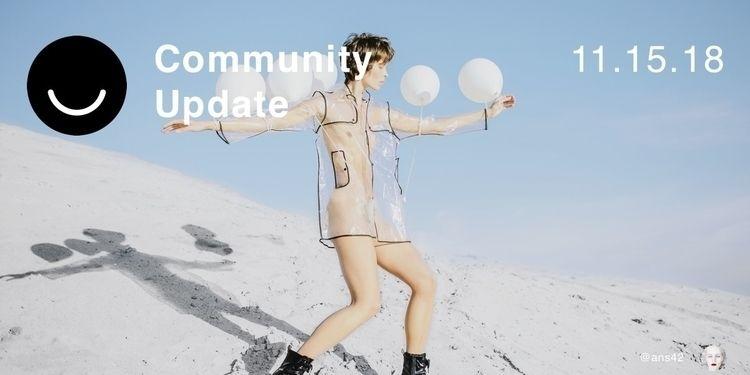 Community Update 11/15/2018 Hap - elloblog | ello