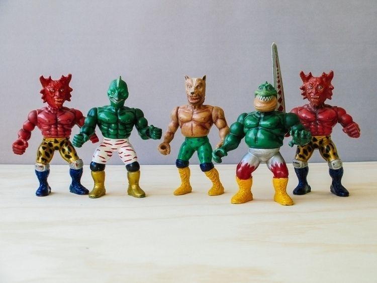 Monsters Warriors, Mannix 1993  - foundinchile | ello