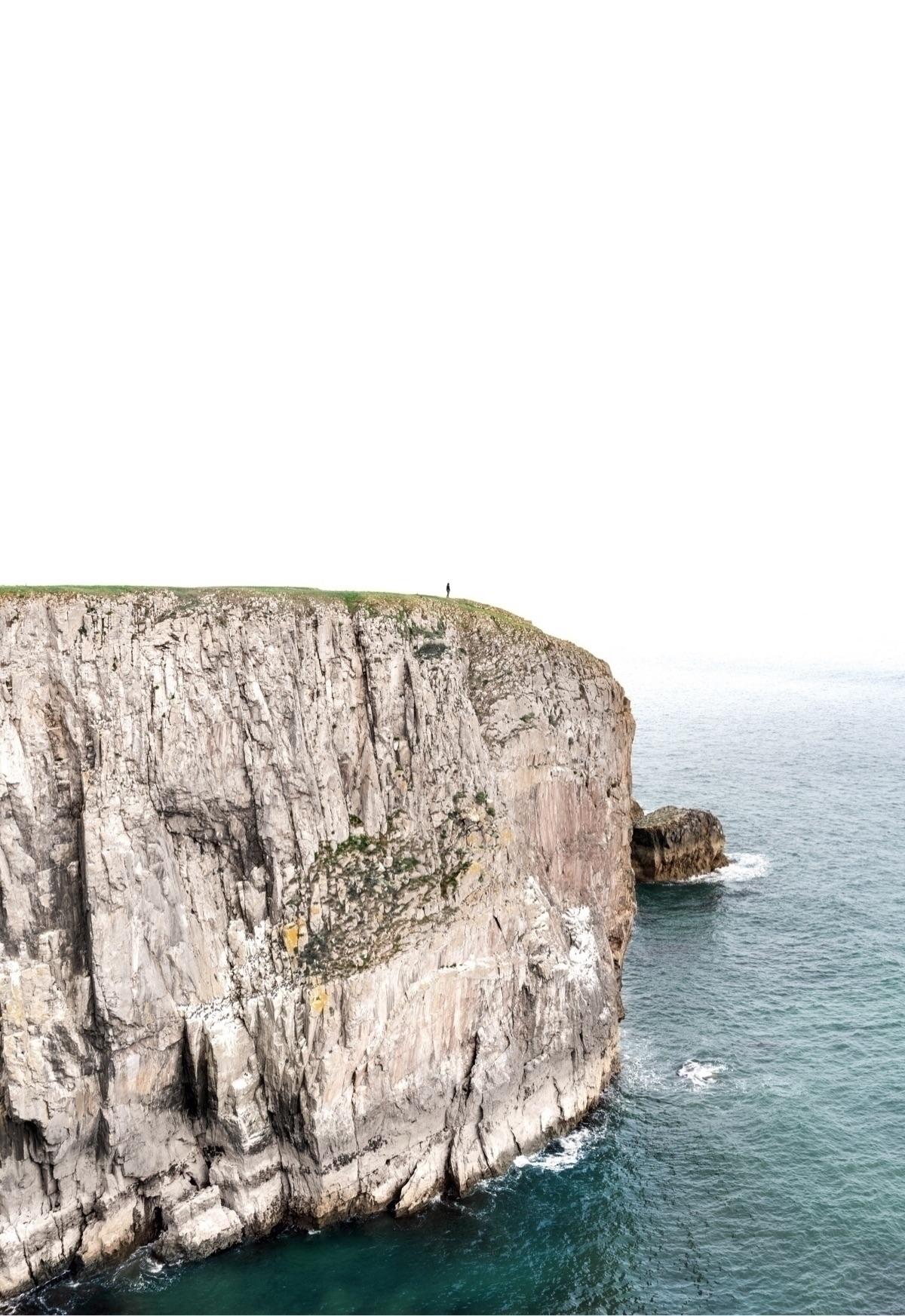 – Tina Dico - cliff, pembrokeshire - oliviermorisse | ello