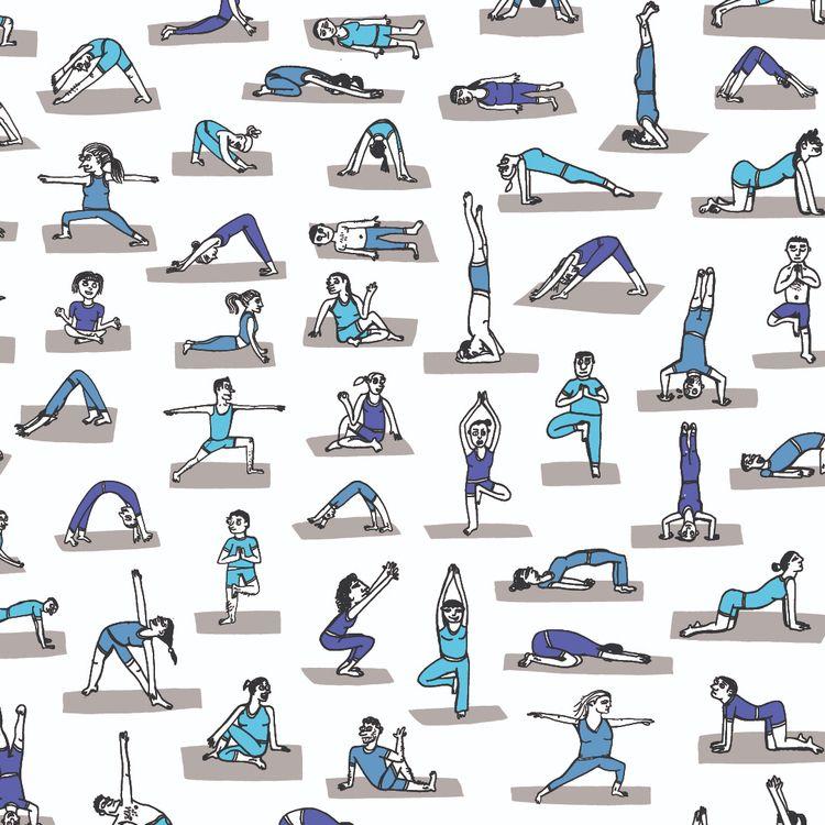Cool yoga - wearebrainstorm | ello
