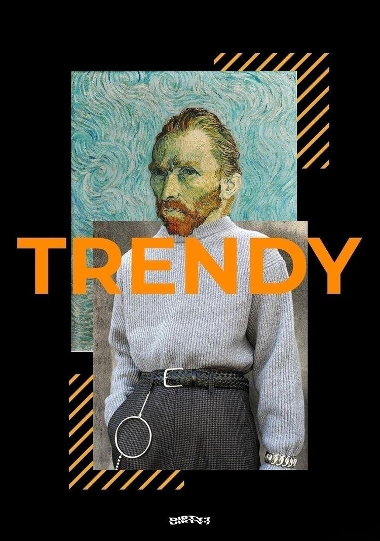 TRENDY Van Gogh Collage - collage - dirty7 | ello