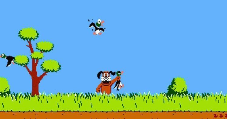 Duck Hunt foi um jogo lançado p - hqscomcafe | ello