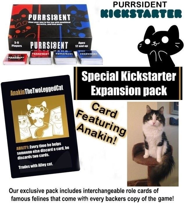 kitty Anakin Featured Card game - tigerpixie | ello