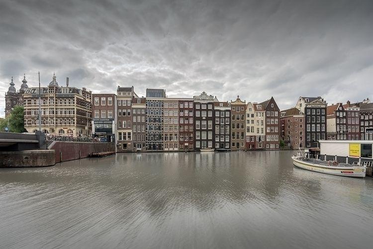 Sigh, Amsterdam Damrak Part Sig - johnkosmopoulos   ello