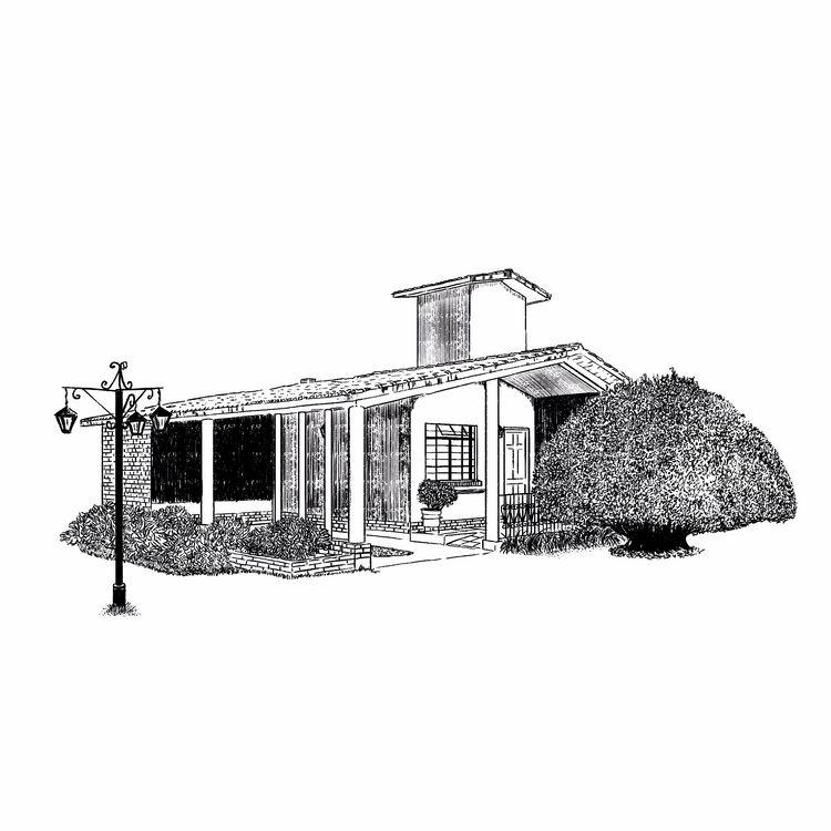 Cabin Illustration branding hot - rodzarain | ello