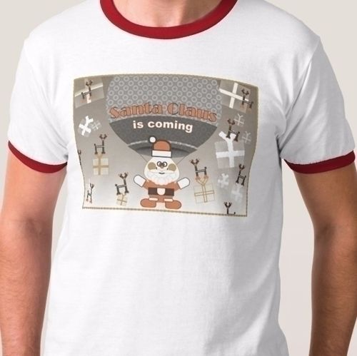 Santa Claus motive ZAZZLE APPAR - grabatdot | ello