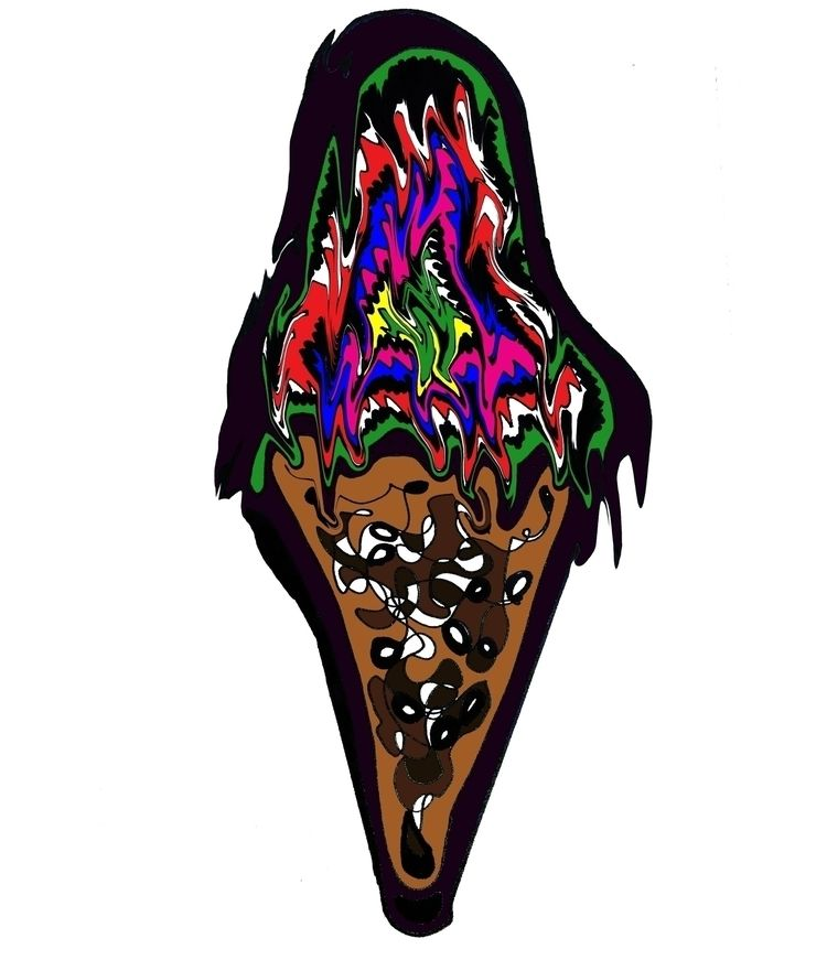 Dessert - icecream, graphic - ranjiroo   ello