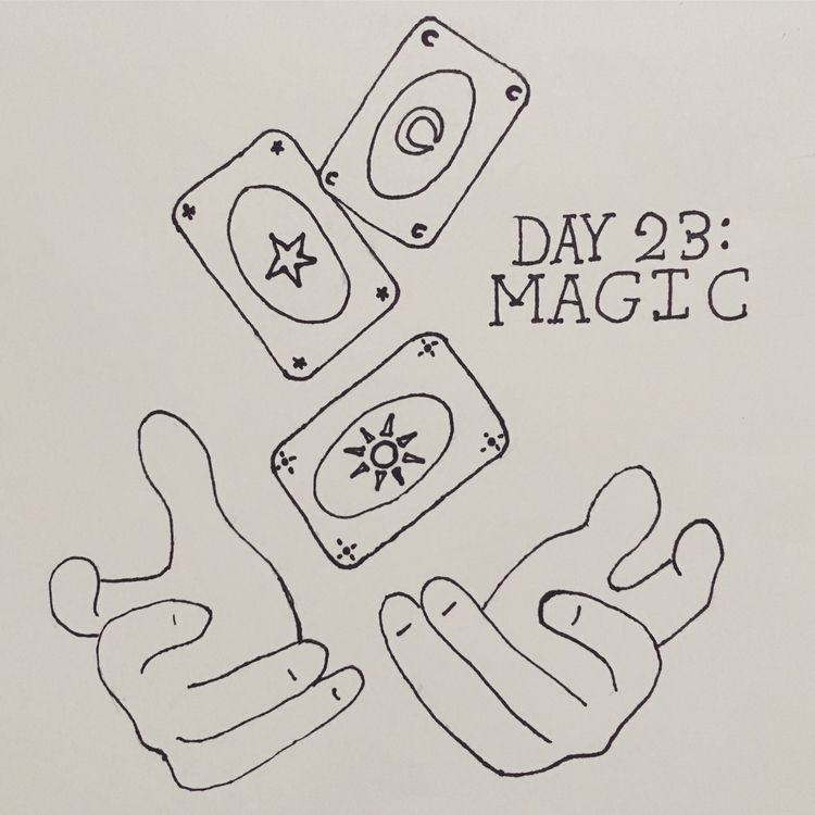 """Inktober"" Day 23: Magic - agluestick 