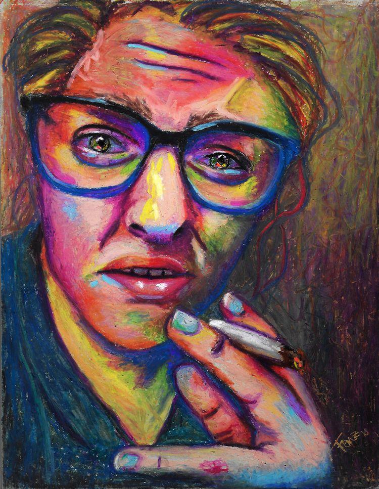 weird - beautiful fool portrait - artfeeva   ello