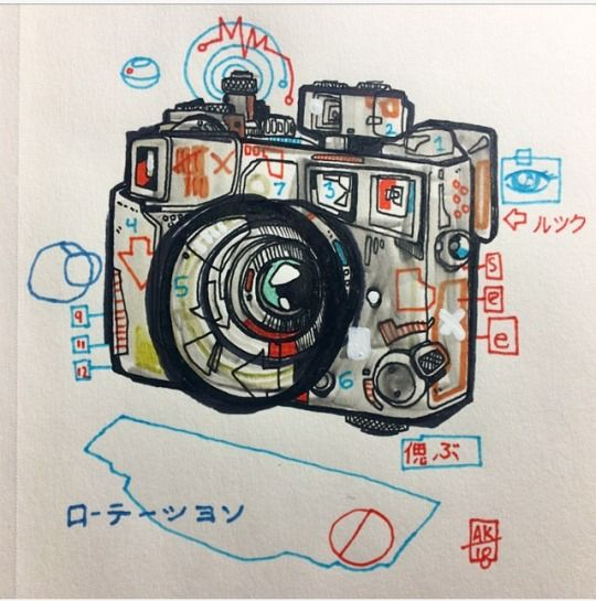 quick camera sketch morning - photography - aaronkraten | ello