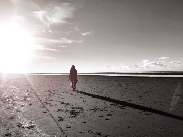 Shadow Beach - Iphone, iphoneography - itsrichardjohnson | ello