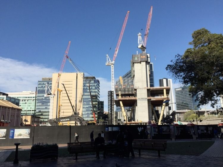 Parramatta Square construction  - red_wolf | ello
