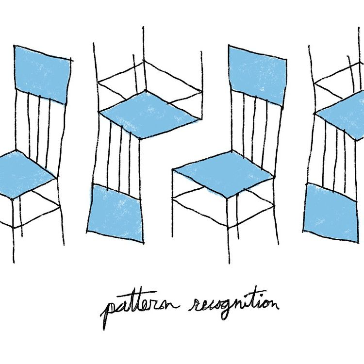 pattern recognition - bluechair - catswilleatyou | ello