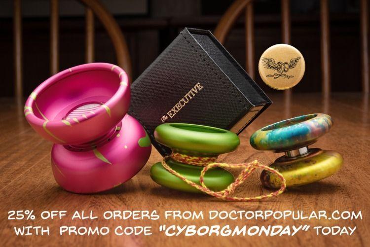 promo code CYBORGMONDAY 25% toy - docpop   ello
