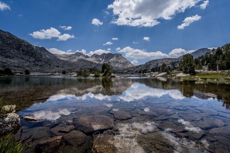 Mirrored lake JMT DAY 13 - CLOU - scorpioonsup | ello