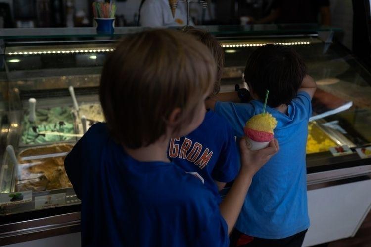 kids gelato Coney Island, NY - falllabou   ello