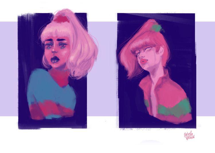 Quick thumbnail character conce - artbynatasharossouw | ello