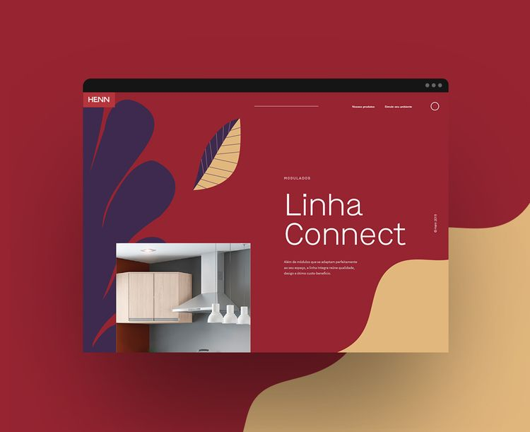 website, illustration, UI, UX - elvisbenicio | ello