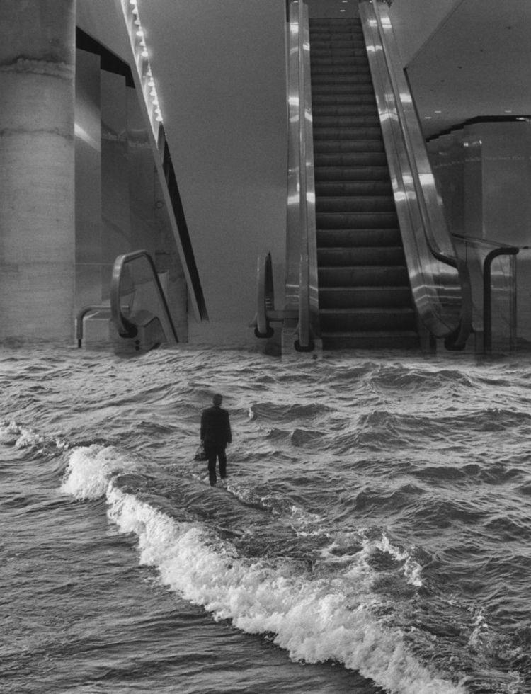 Scott Mutter - escalator, waves - earways | ello