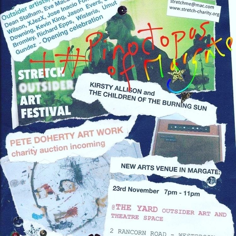 flyer art show open tomorrow 3p - jasonvictorwisteria | ello
