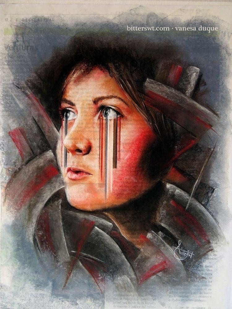 «Woman revelation», artwork Vis - bitterswt | ello