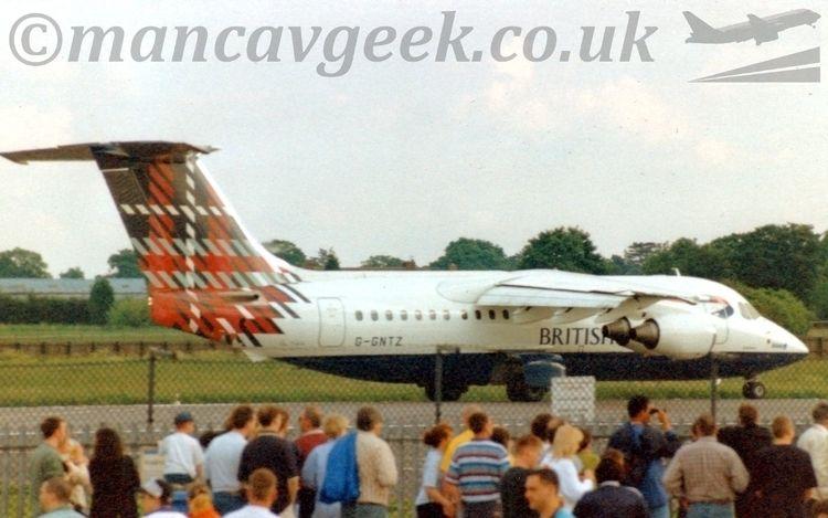 British Aerospace BAe146, Airwa - mancavgeek | ello