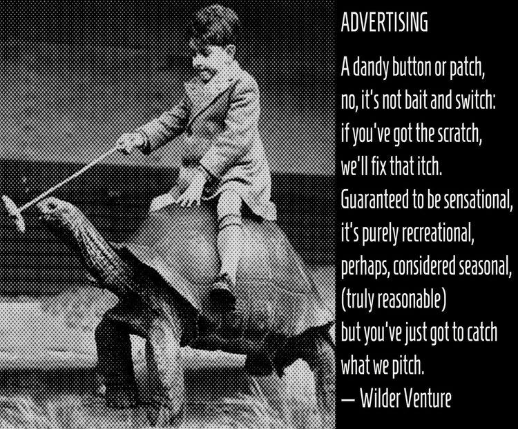 ADVERTISING dandy button patch - wilderventure | ello