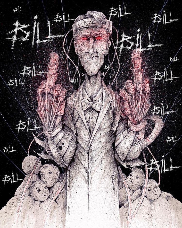 Bill! BILL! Bill Nye Cyborg Guy - tlamph   ello