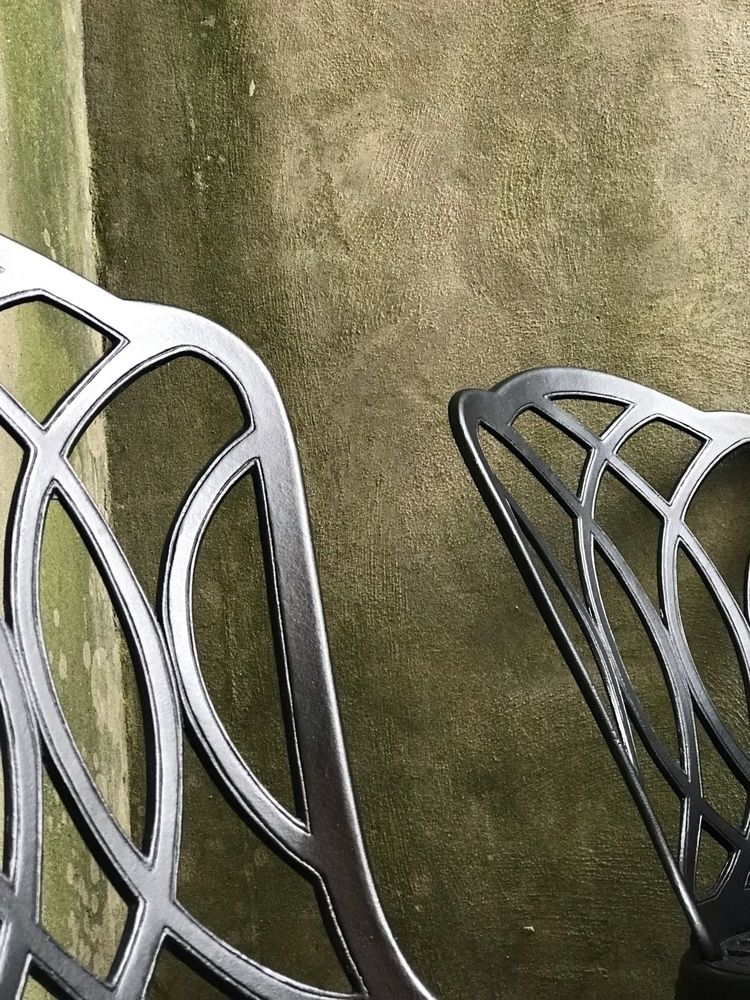 Cast Aluminum Chairs Porch - justinatkins | ello
