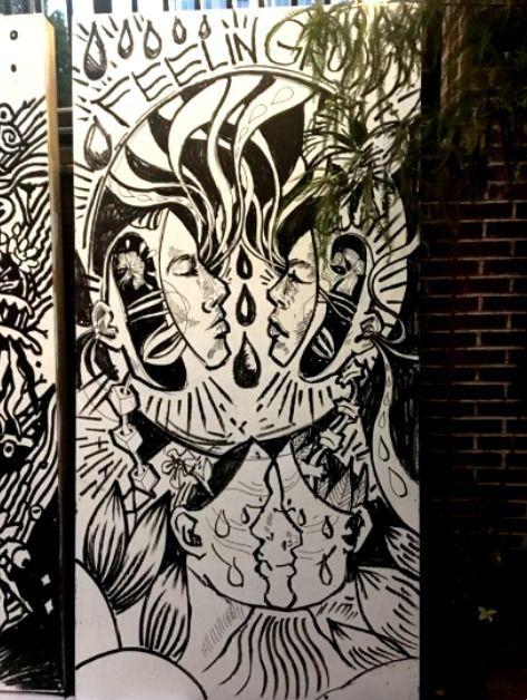 Flashback Friday! winning mural - blflood   ello