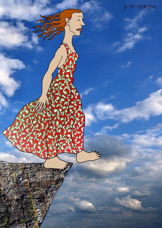 Leap - digitalart, friday, soulsearch - pedrarochaart | ello