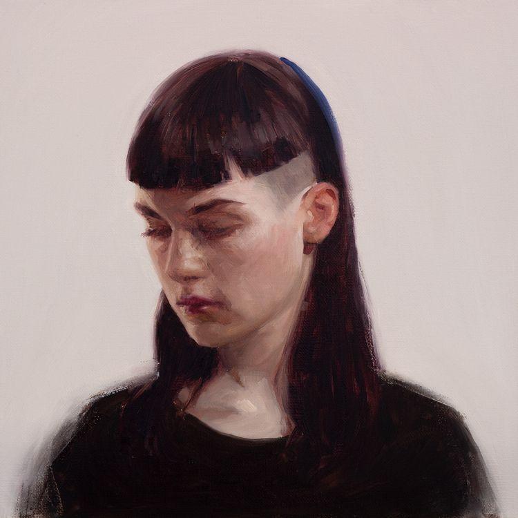 lina 30,5 cm | oil canvas 2018 - valentinfischer | ello